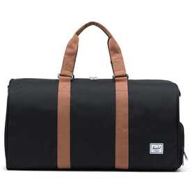Herschel Novel Mid-Volume Duffel, black/saddle brown